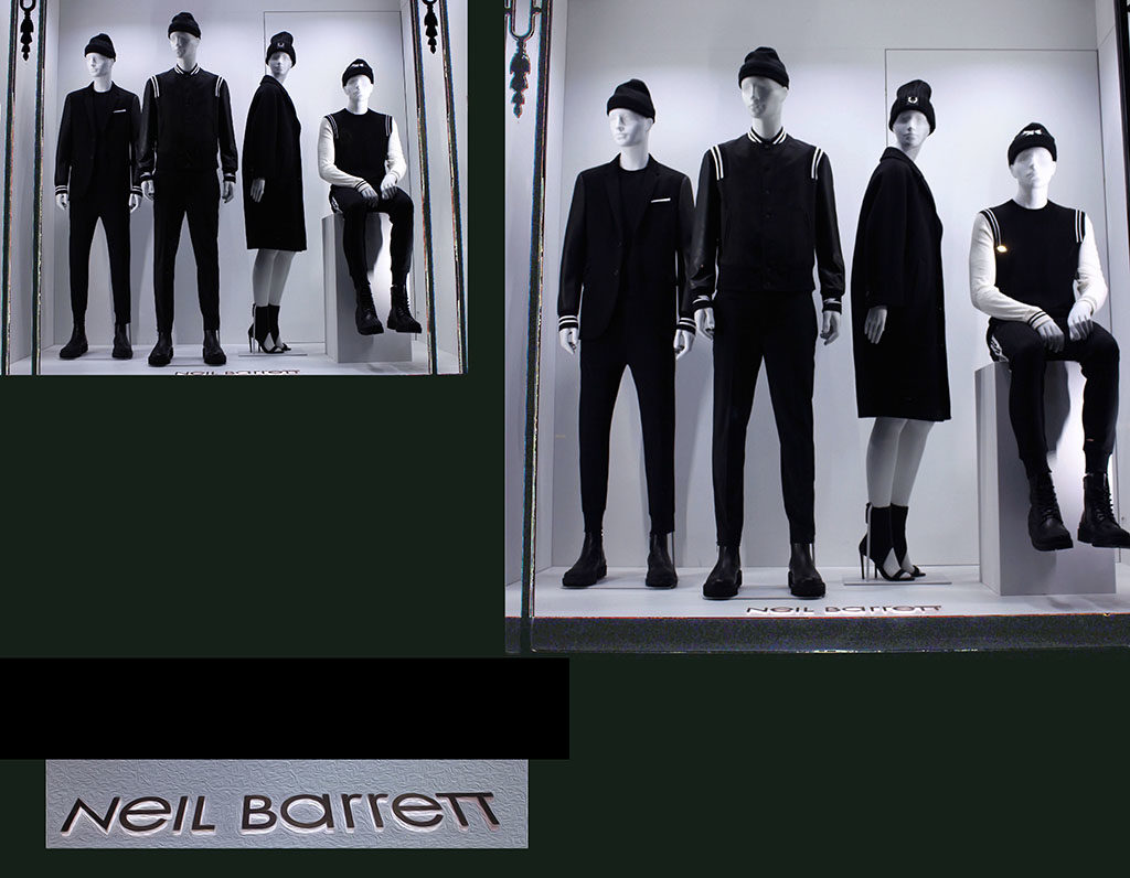 in store with… Neil Barrett