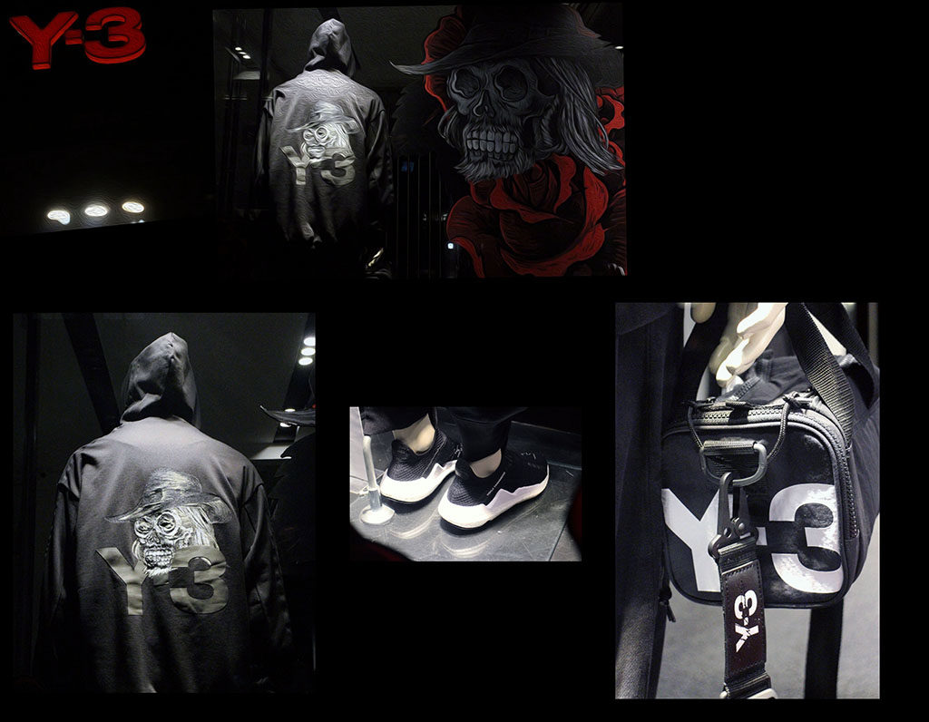 in store with…y3