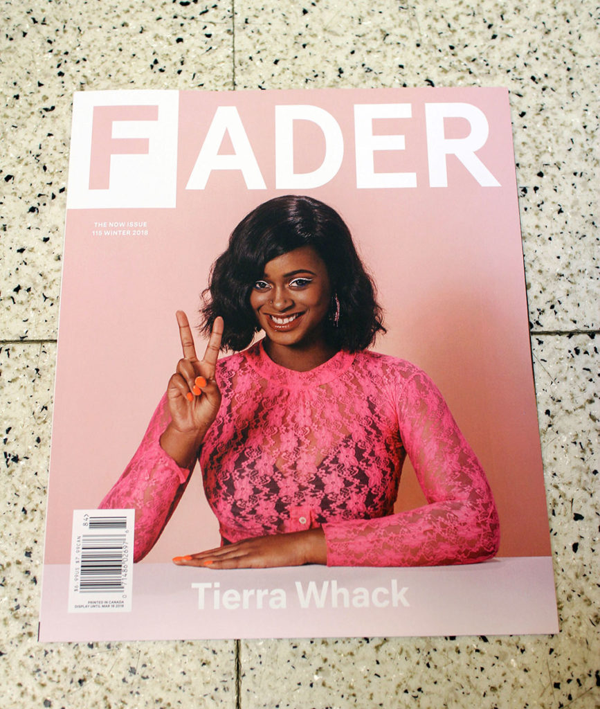 """IN """"Camden News"""" store to see """"fader"""" magazine"""