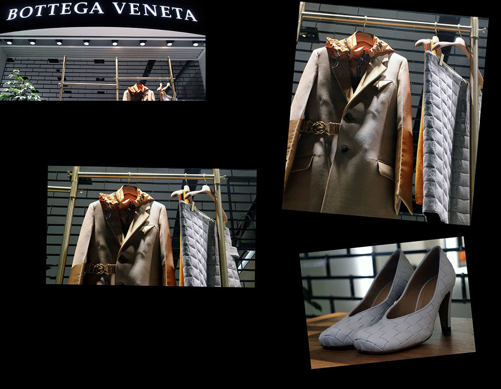 in store with…Bottega Veneta