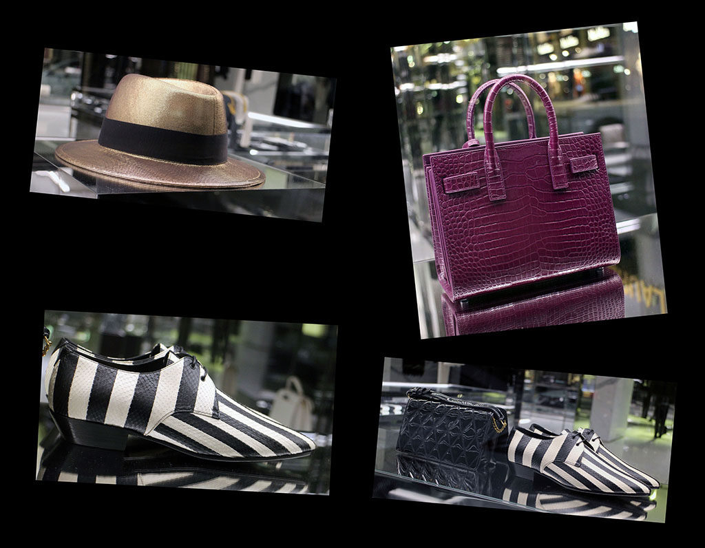 in store with…ysl