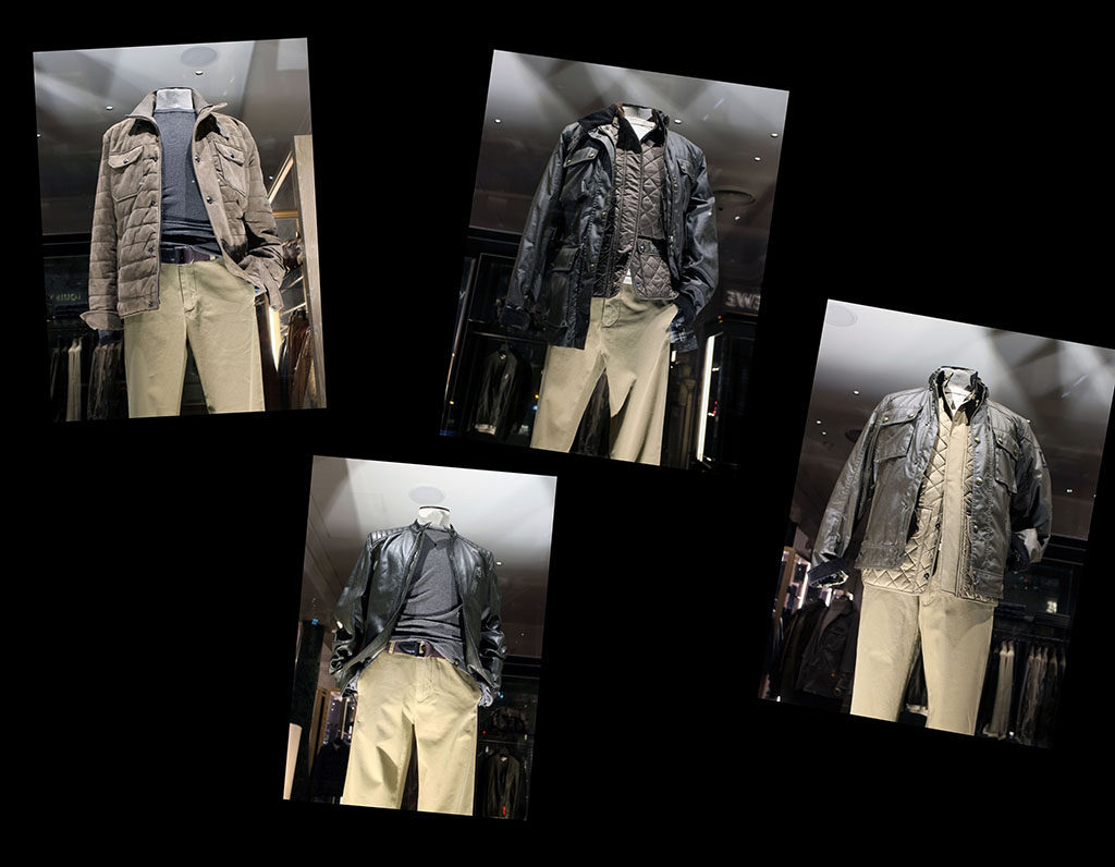 in store with…Belstaff