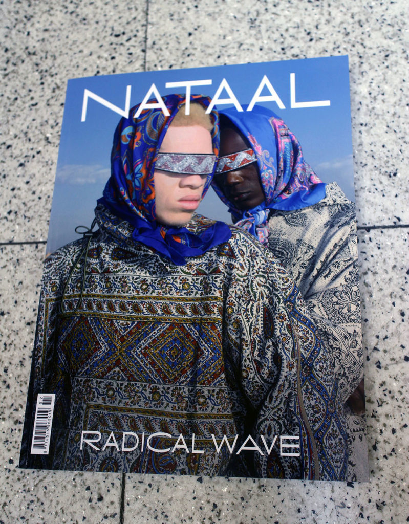 """IN """"Camden News"""" store to see """"nataal """" magazine"""