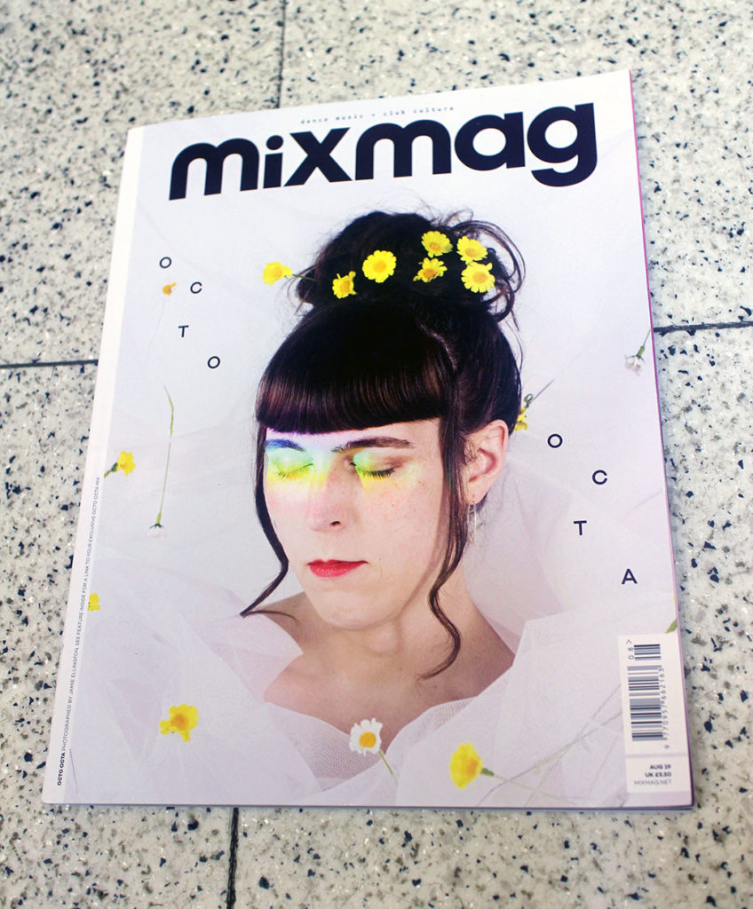 """IN """"Camden News"""" store to see """"mixmag"""" magazine"""