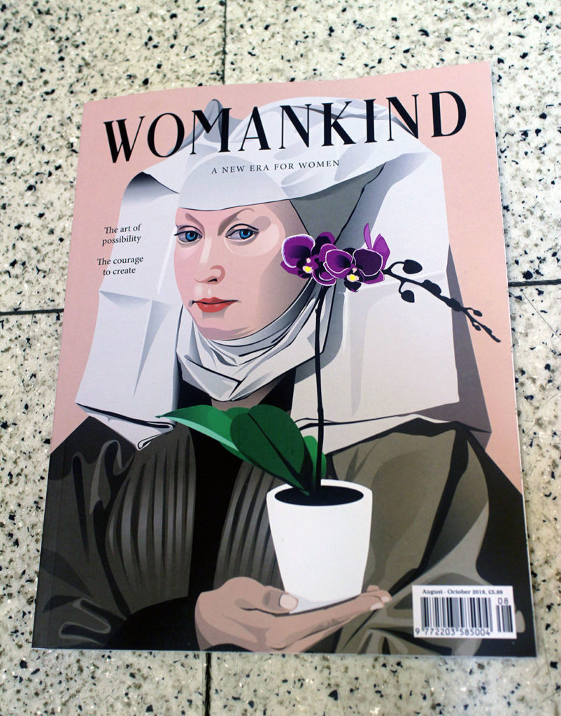 """IN """"Camden News"""" store to see """"womankind"""" magazine"""