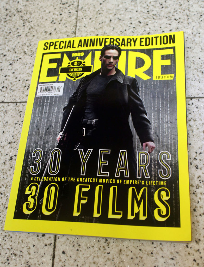 """IN """"Camden News"""" store to see """"empire"""" magazine"""