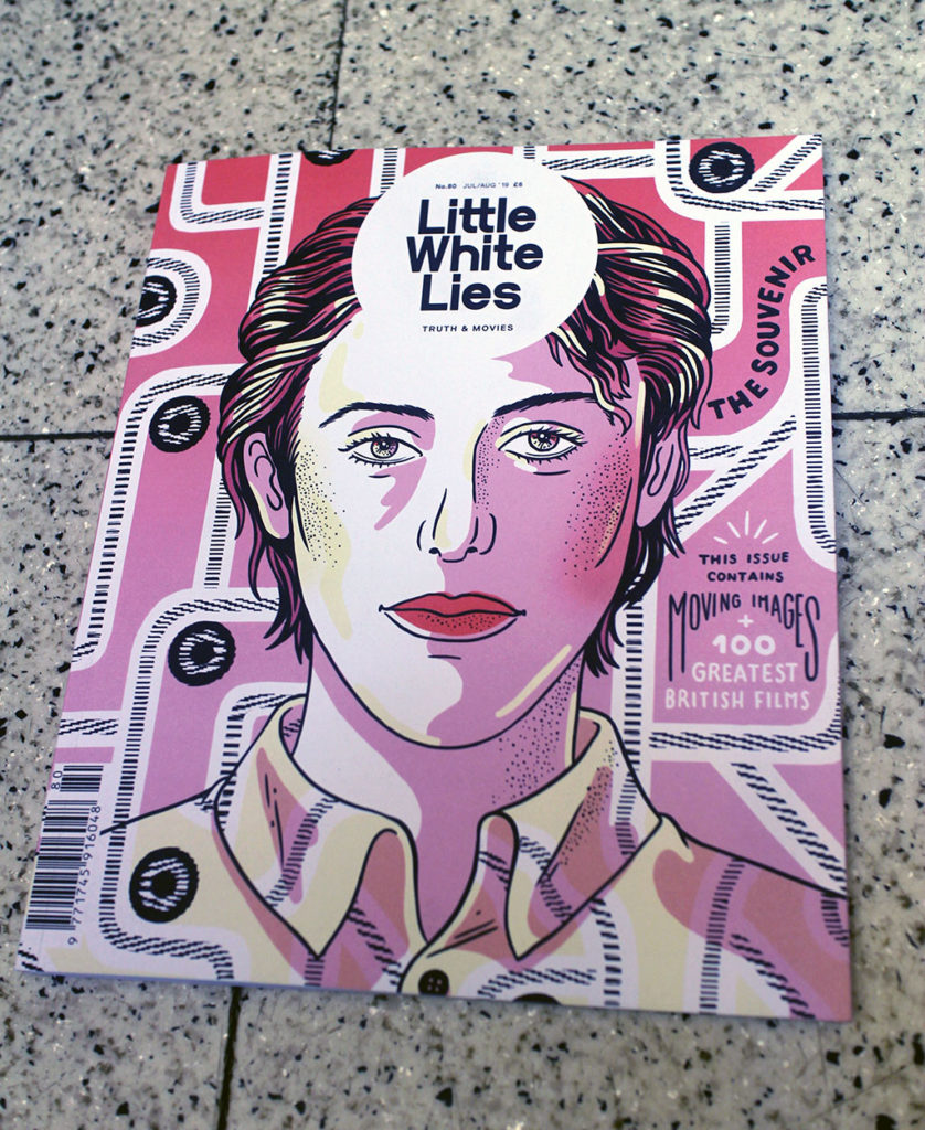 """IN """"Camden News"""" store to see """"little white lies"""" magazine"""