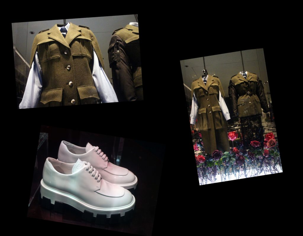 in store with…Prada