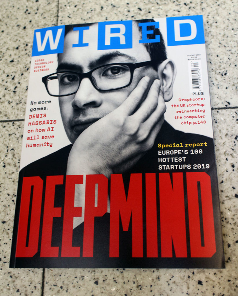 "IN ""Camden News"" store to see ""wired"" magazine"