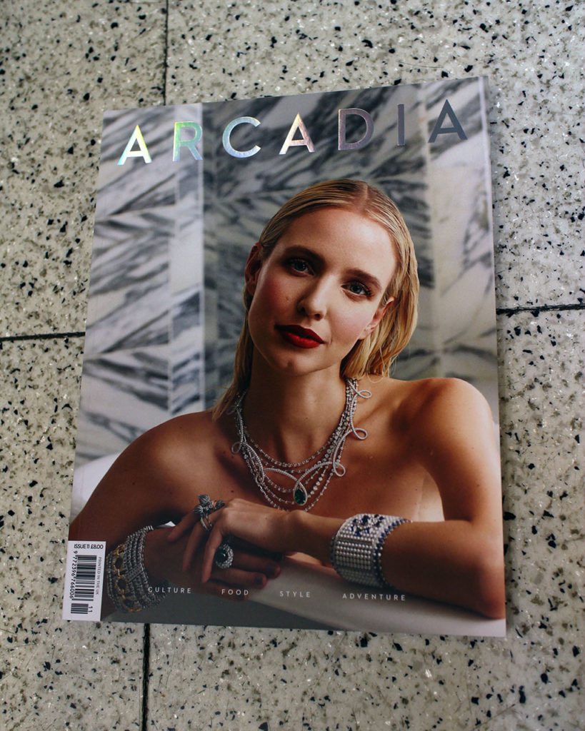 "IN ""Camden News"" store to see ""arcadia"" magazine"