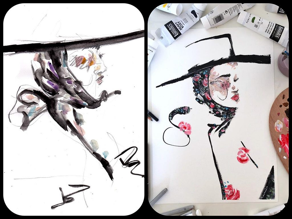 4me4you..introduces..features..previews..> 17: Fashion Illustrator - Scott Mason - Scott W Mason is a British Fashion Illustrator INFO: https://www.scottwmason.com https://www.instagram.com/scottwmason/