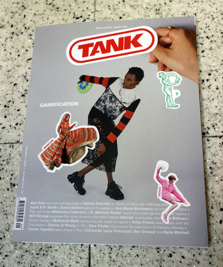 """IN """"Camden News"""" store to see """"tank"""" magazine"""