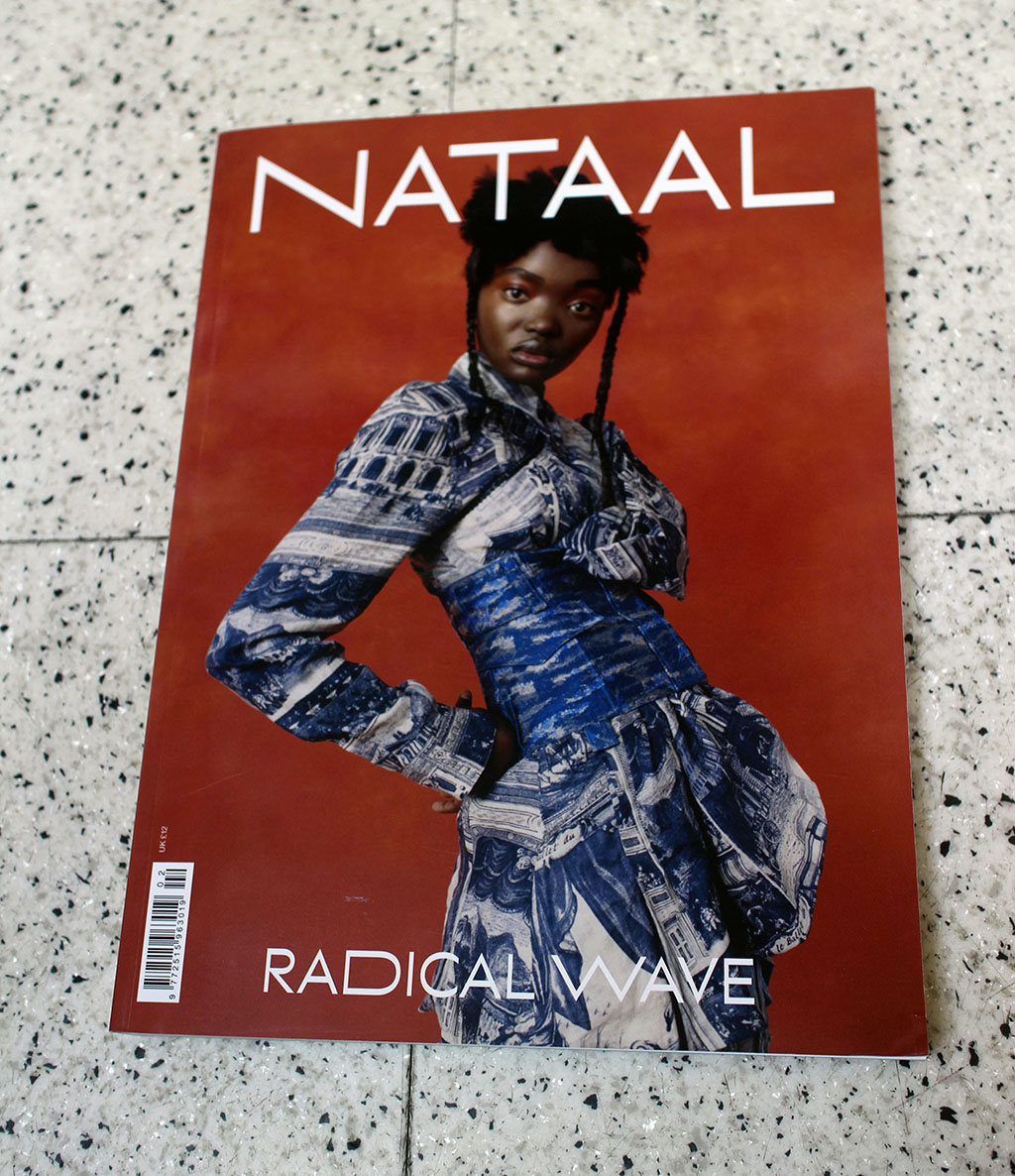 """IN """"Camden News"""" store to see """"nataal"""" magazine"""