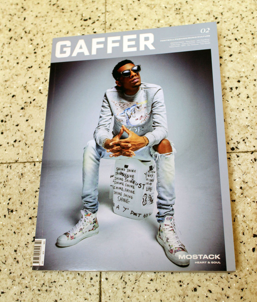 """IN """"Camden News"""" store to see """"gaffer"""" magazine"""