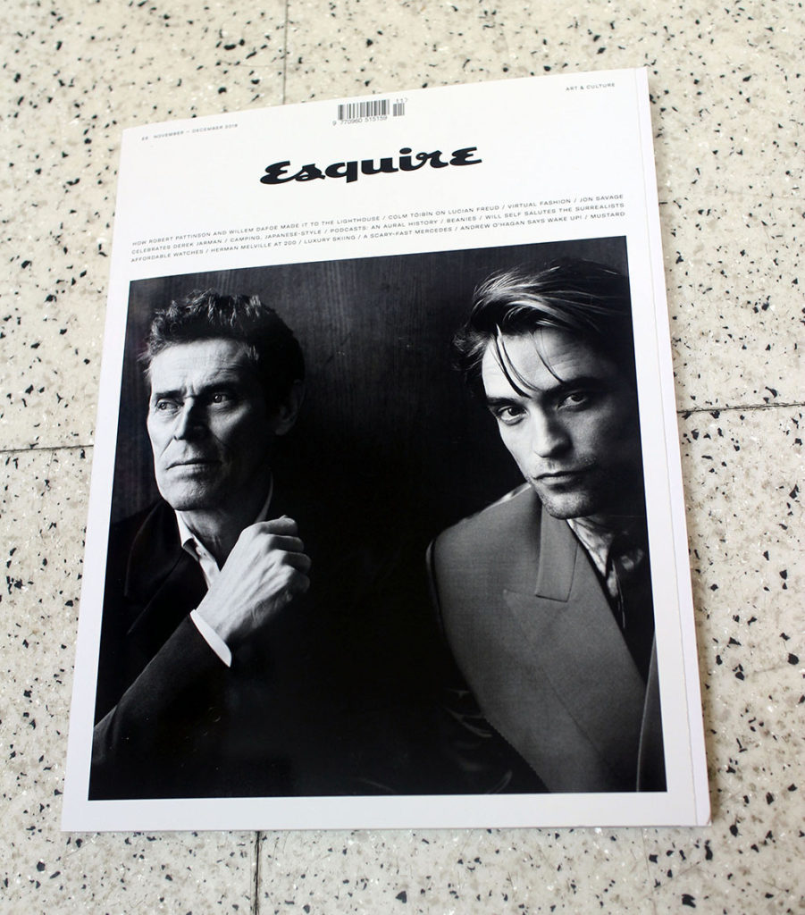 """IN """"Camden News"""" store to see """"esquire"""" magazine"""