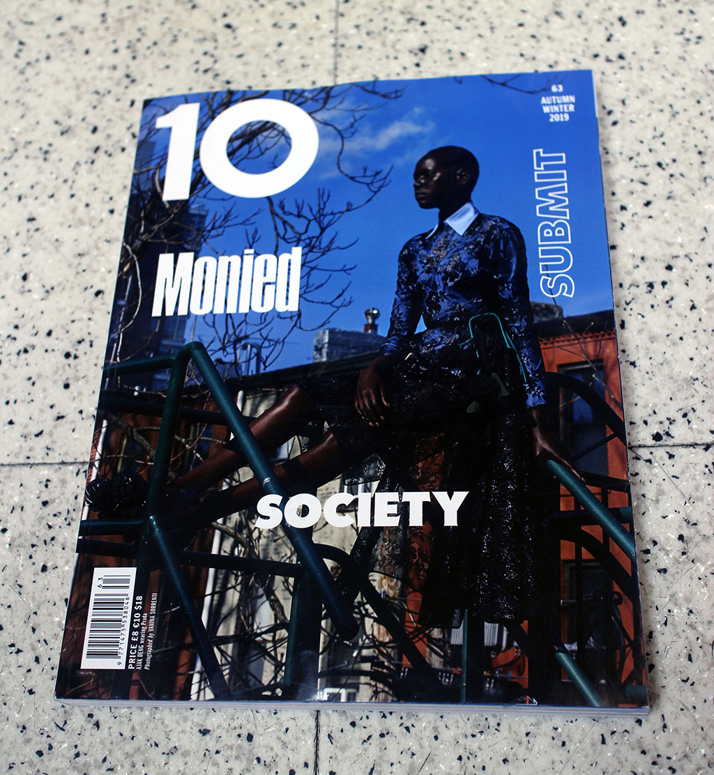 """IN """"Camden News"""" store to see """"10"""" magazine"""
