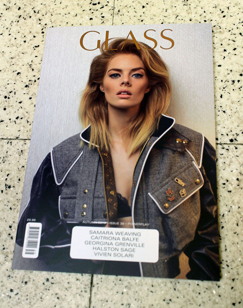"""IN """"Camden News"""" store to see """"glass"""" magazine"""