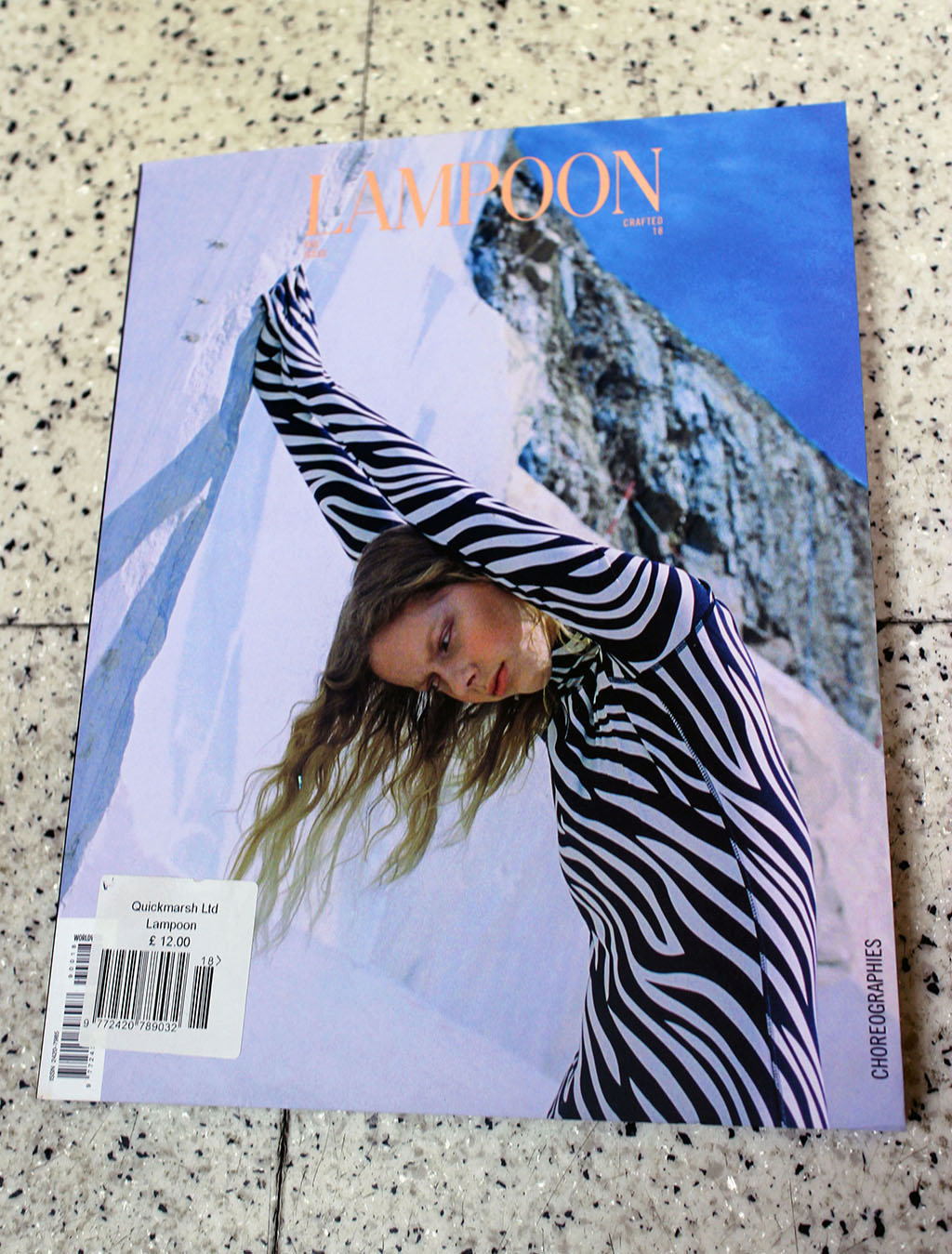 """IN """"Camden News"""" store to see """"lampoon"""" magazine"""
