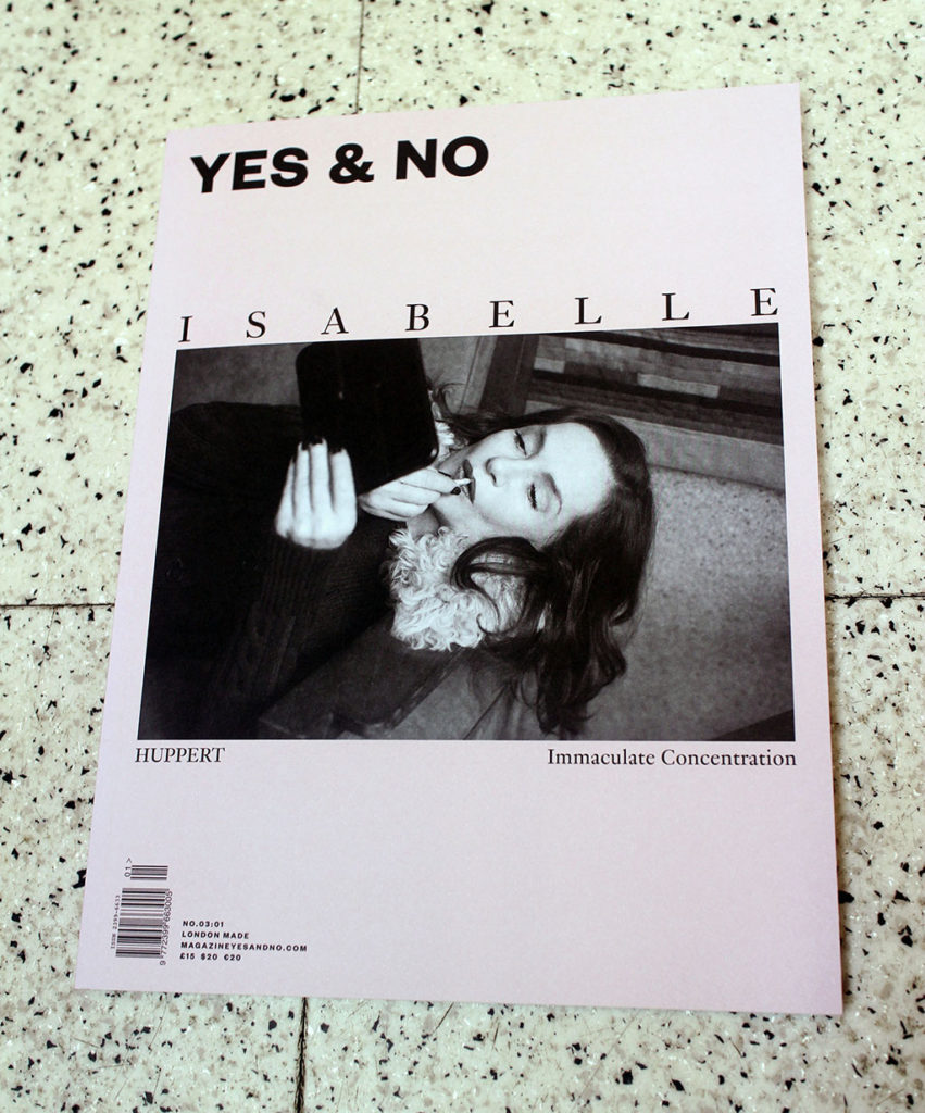 """IN """"Camden News"""" store to see """"yes & no"""" magazine"""