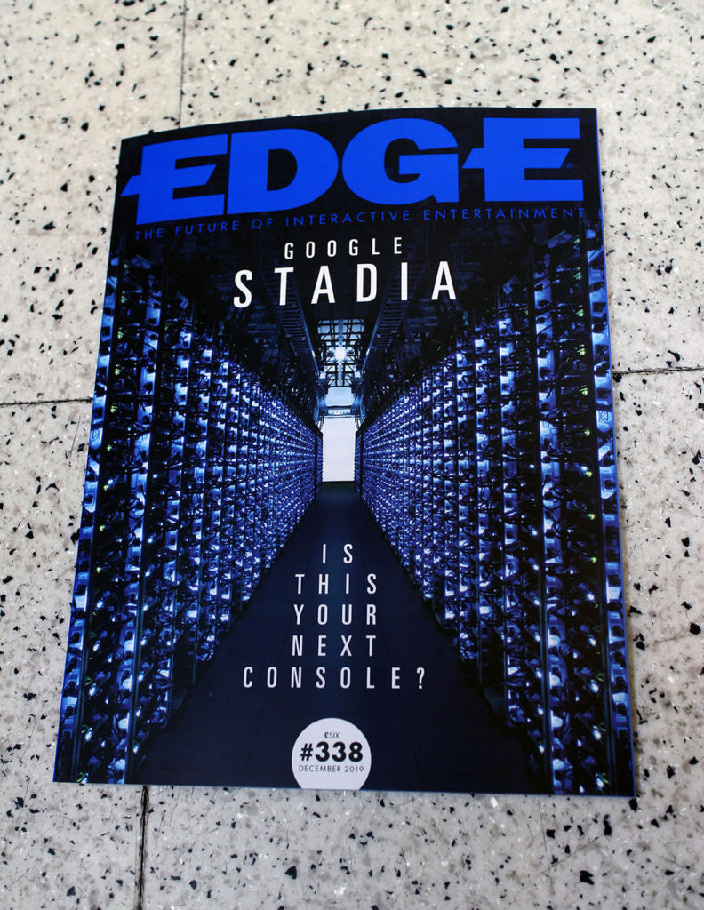 """IN """"Camden News"""" store to see """"edge"""" magazine"""