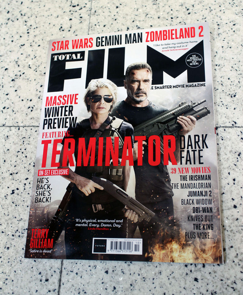 """IN """"Camden News"""" store to see """"total film"""" magazine"""