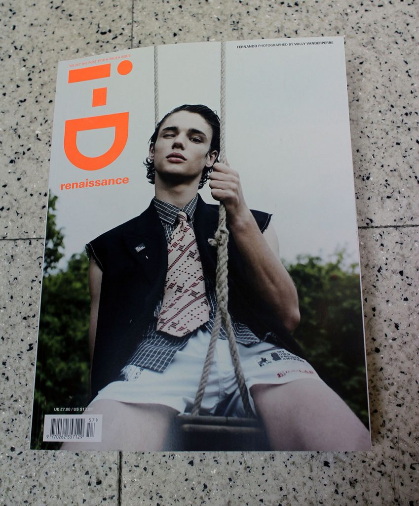 """IN """"Camden News"""" store to see """"i-D"""" magazine"""