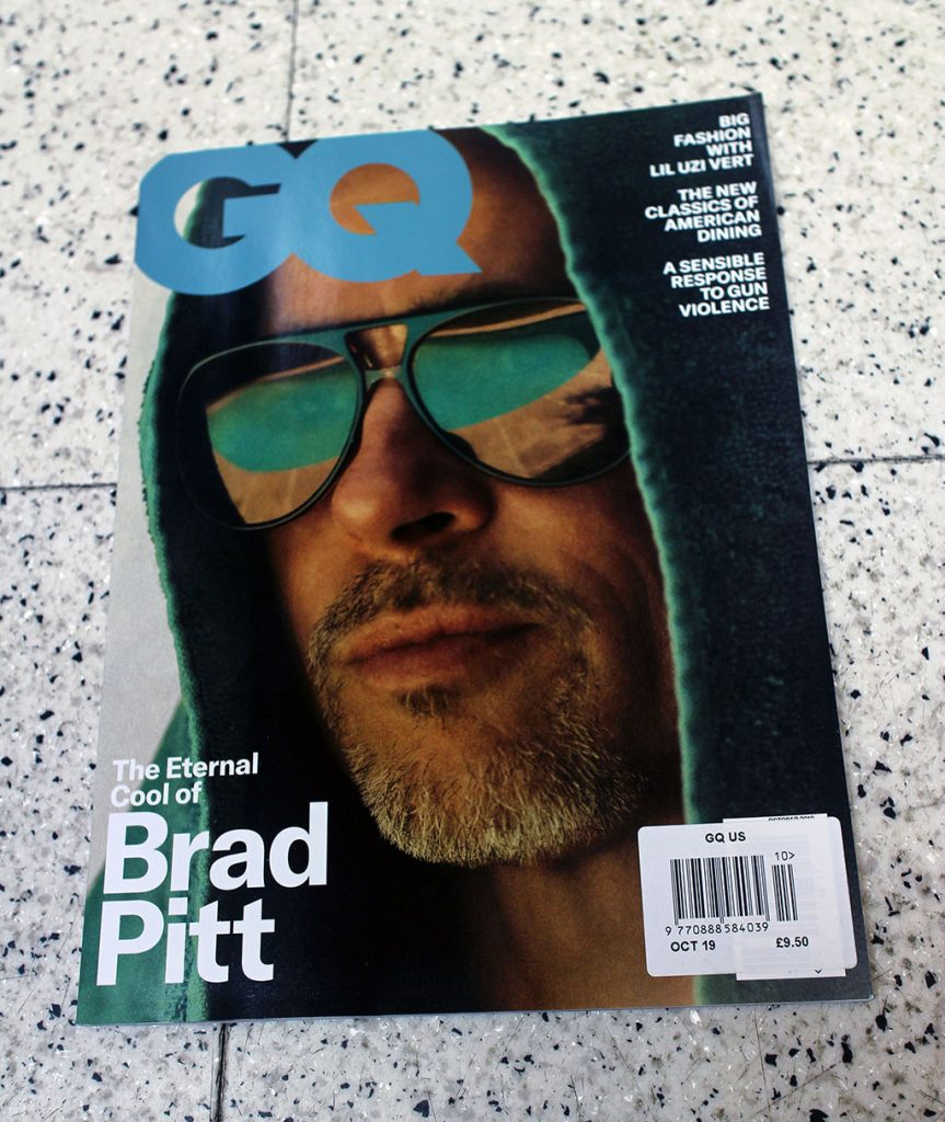 """IN """"Camden News"""" store to see """"gq"""" magazine"""