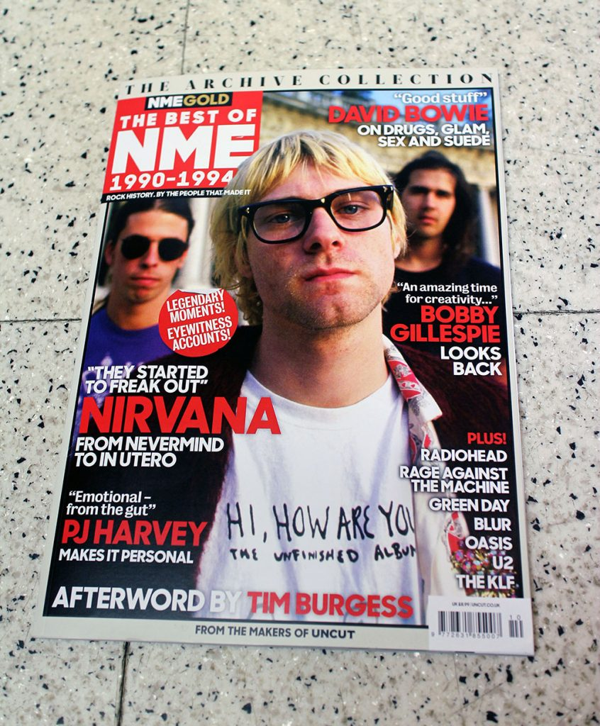 """IN """"Camden News"""" store to see """"NME"""" magazine"""