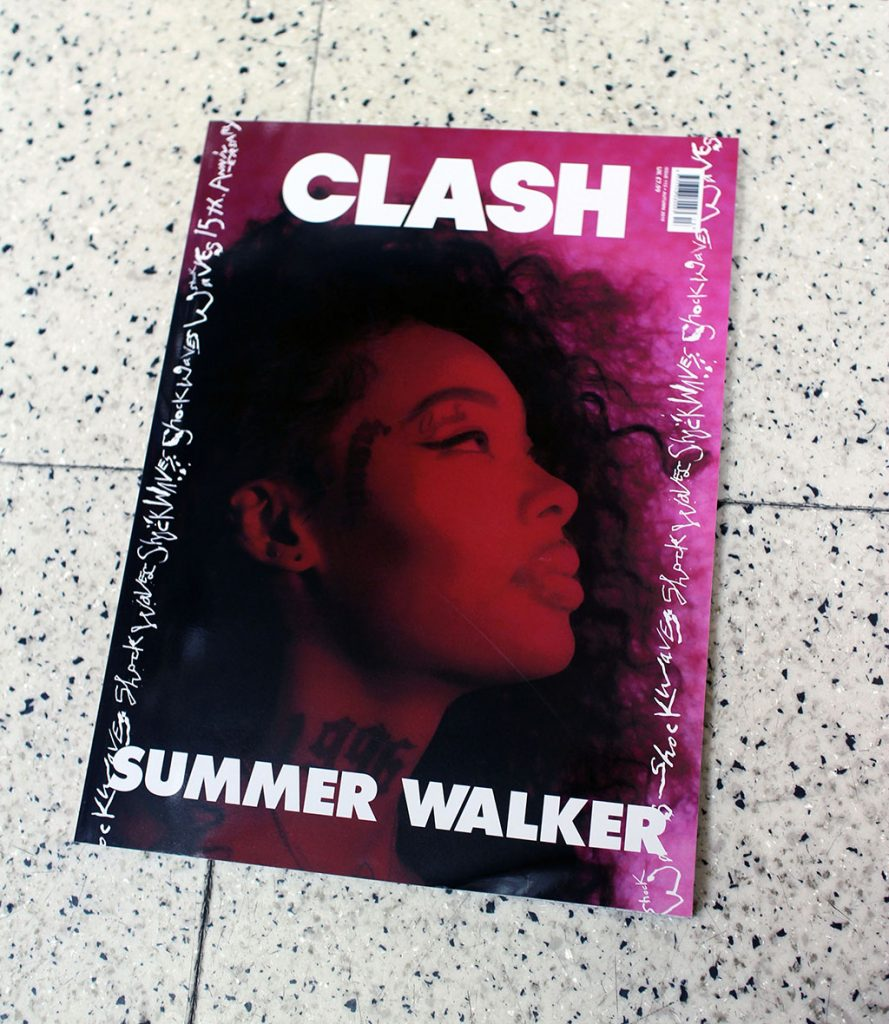 """IN """"Camden News"""" store to see """"clash"""" magazine"""
