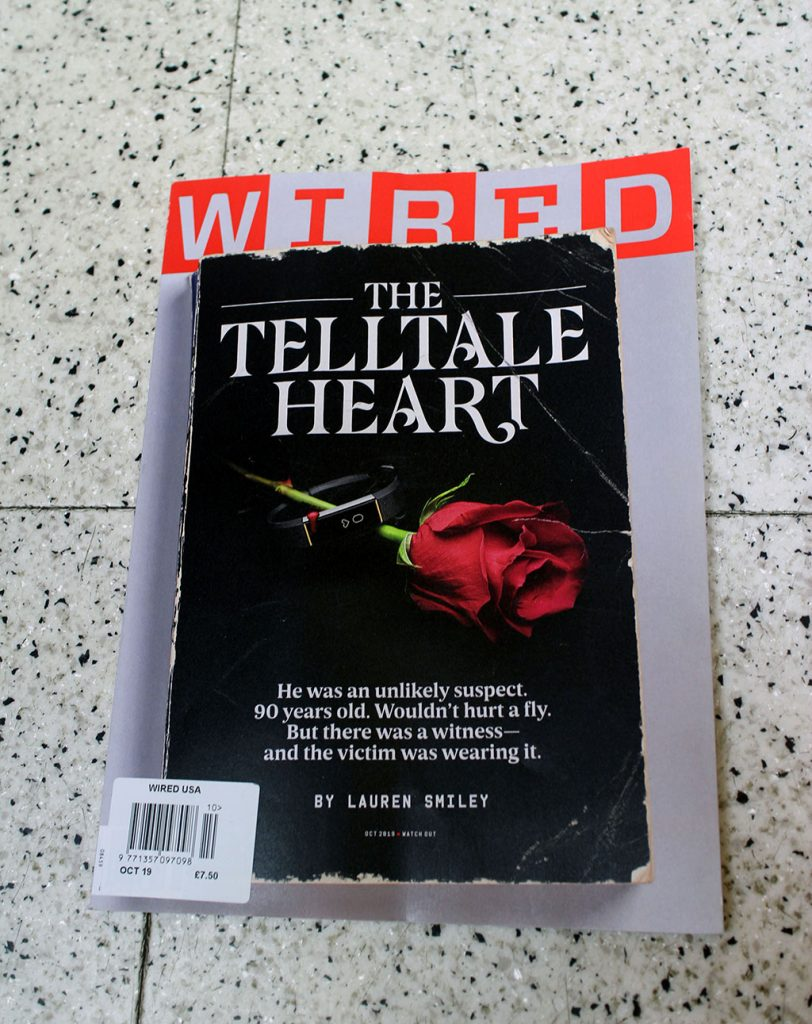 """IN """"Camden News"""" store to see """"wired"""" magazine"""