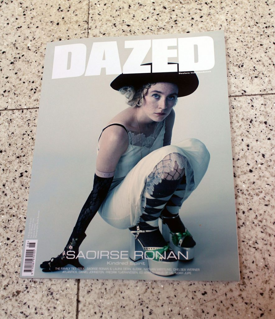 "IN ""Camden News"" store to see ""dazed"" magazine"