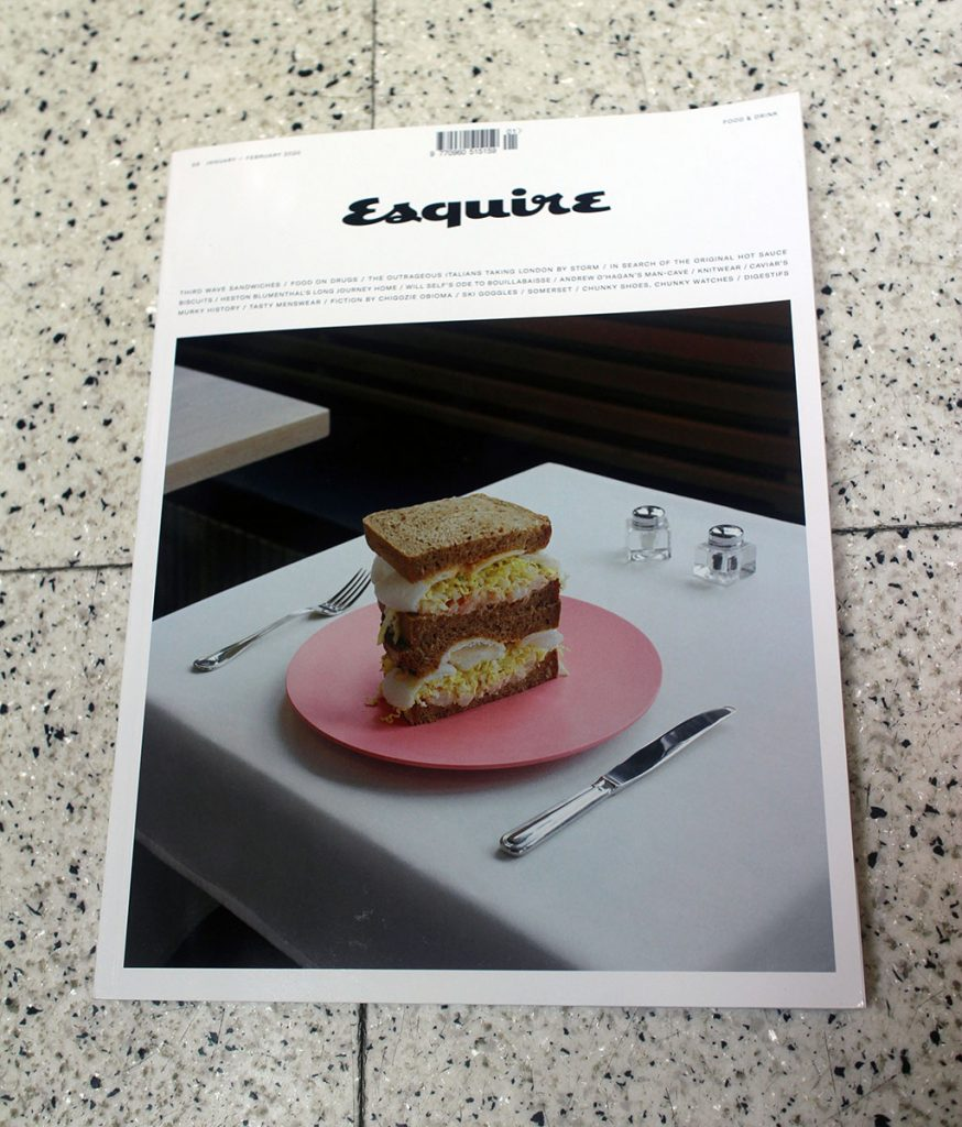 "IN ""Camden News"" store to see ""esquire"" magazine"
