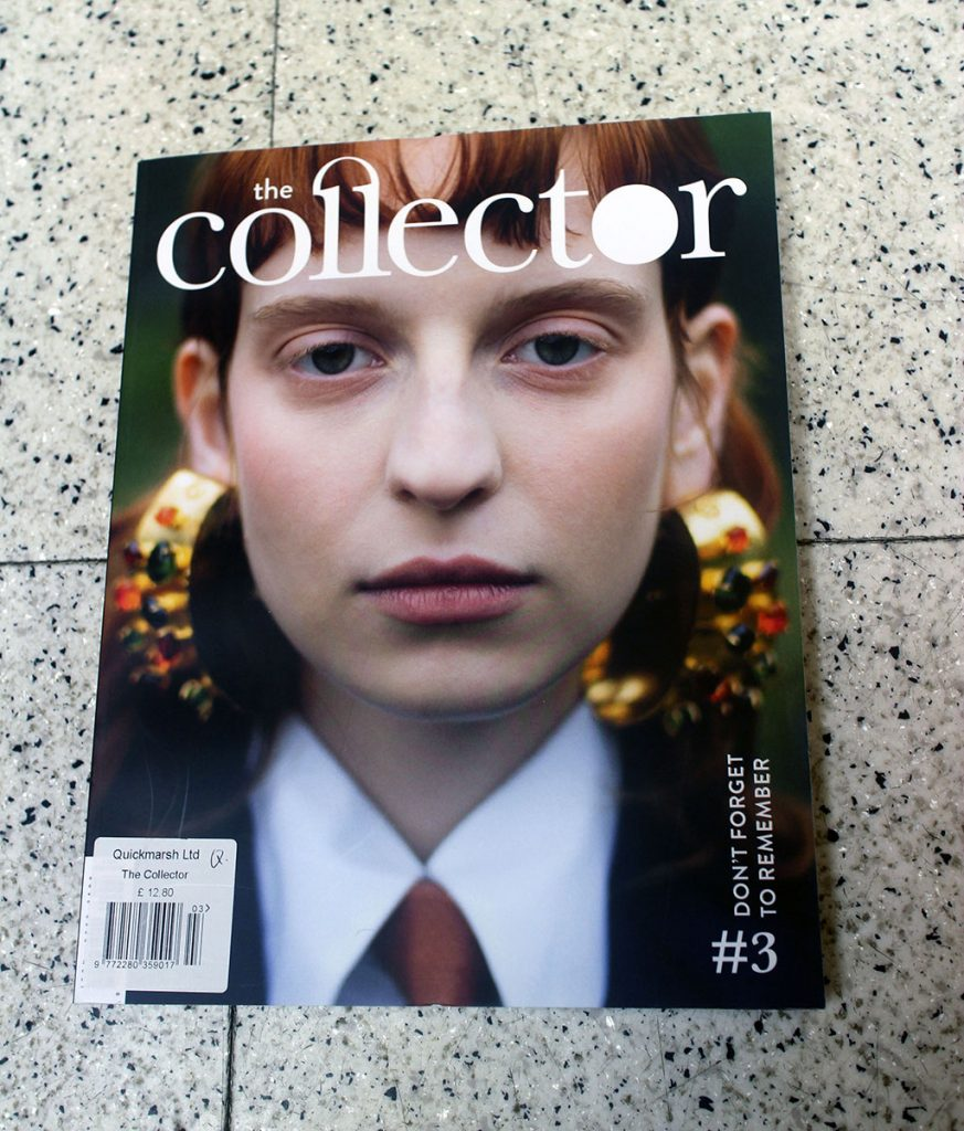 "IN ""Camden News"" store to see ""collector"" magazine"