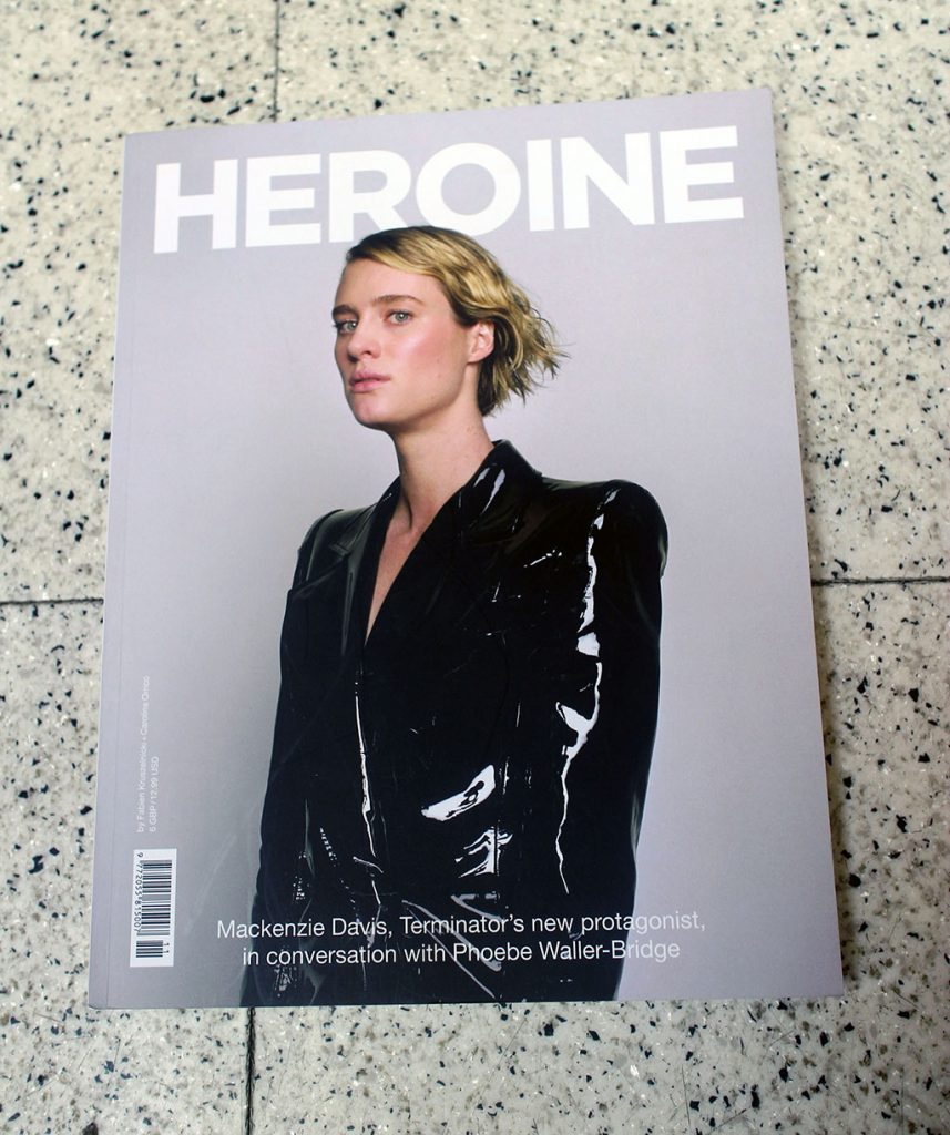 "IN ""Camden News"" store to see ""heroine"" magazine"