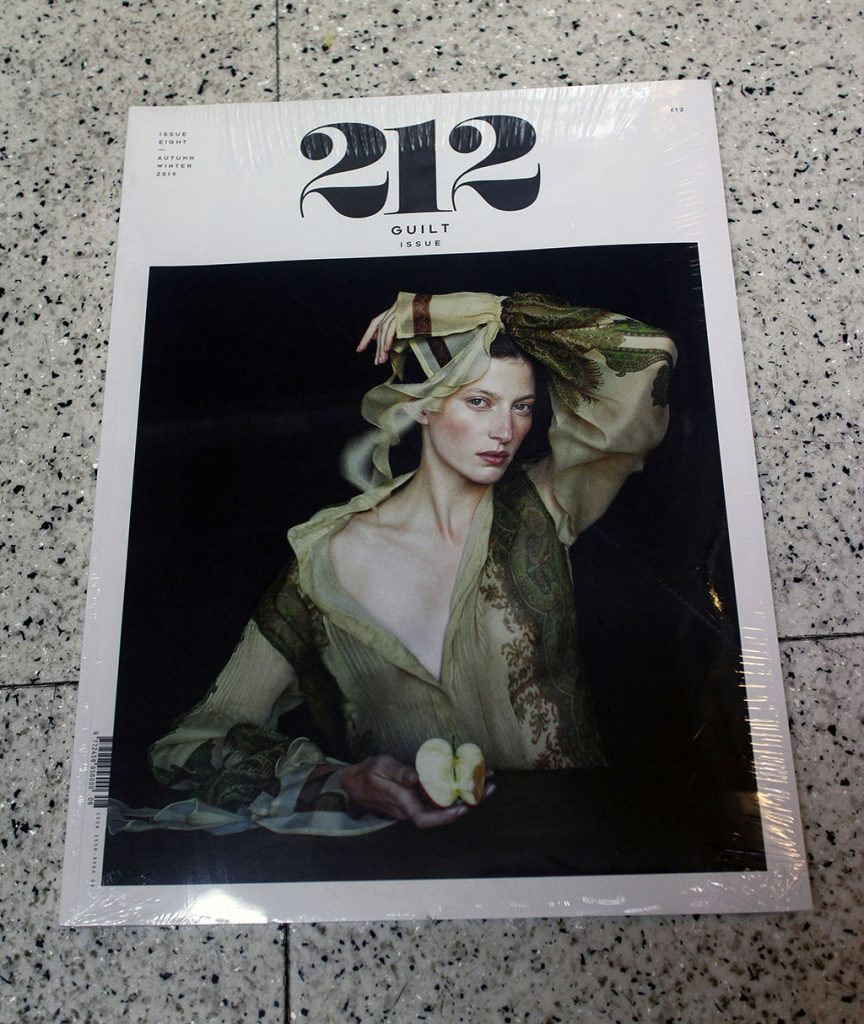 "IN ""Camden News"" store to see ""212"" magazine"