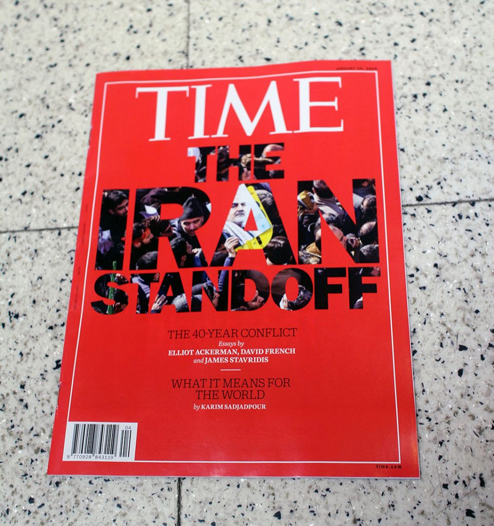 "IN ""Camden News"" store to see ""time"" magazine"