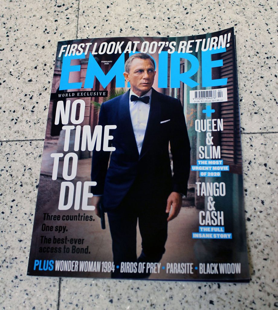 "IN ""Camden News"" store to see ""empire"" magazine"
