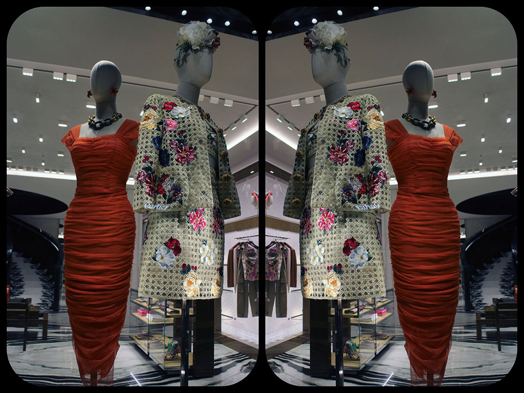 in store with…Dolce and Gabbana