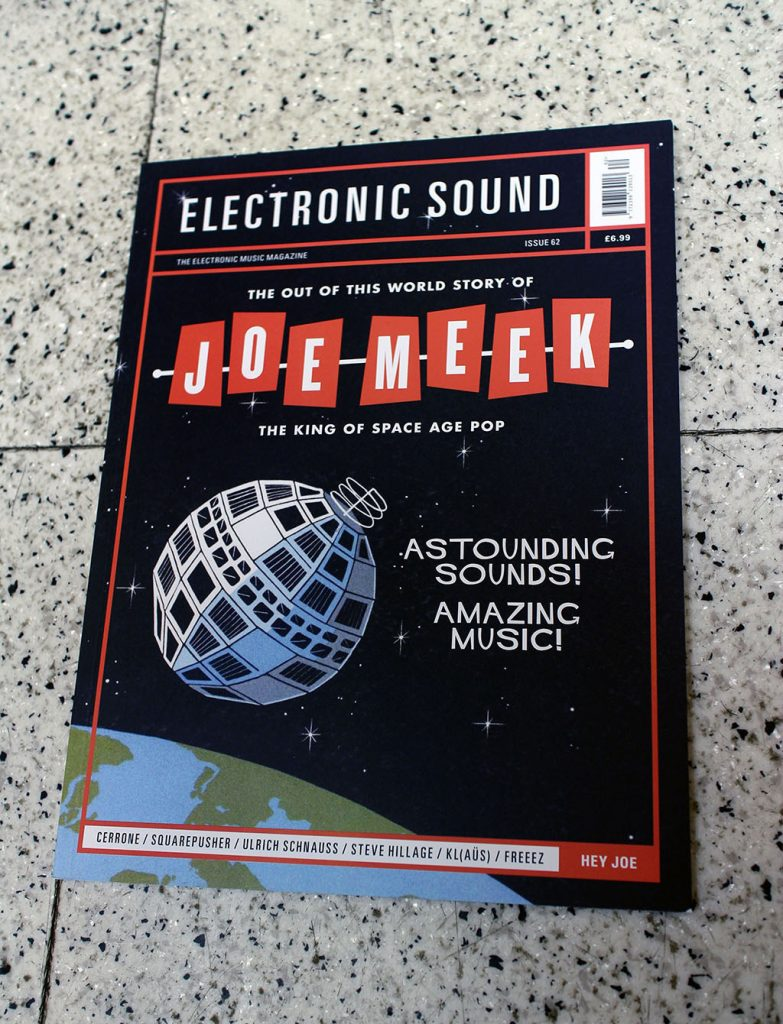 """IN """"Camden News"""" store to see """"electronic sound"""" magazine"""