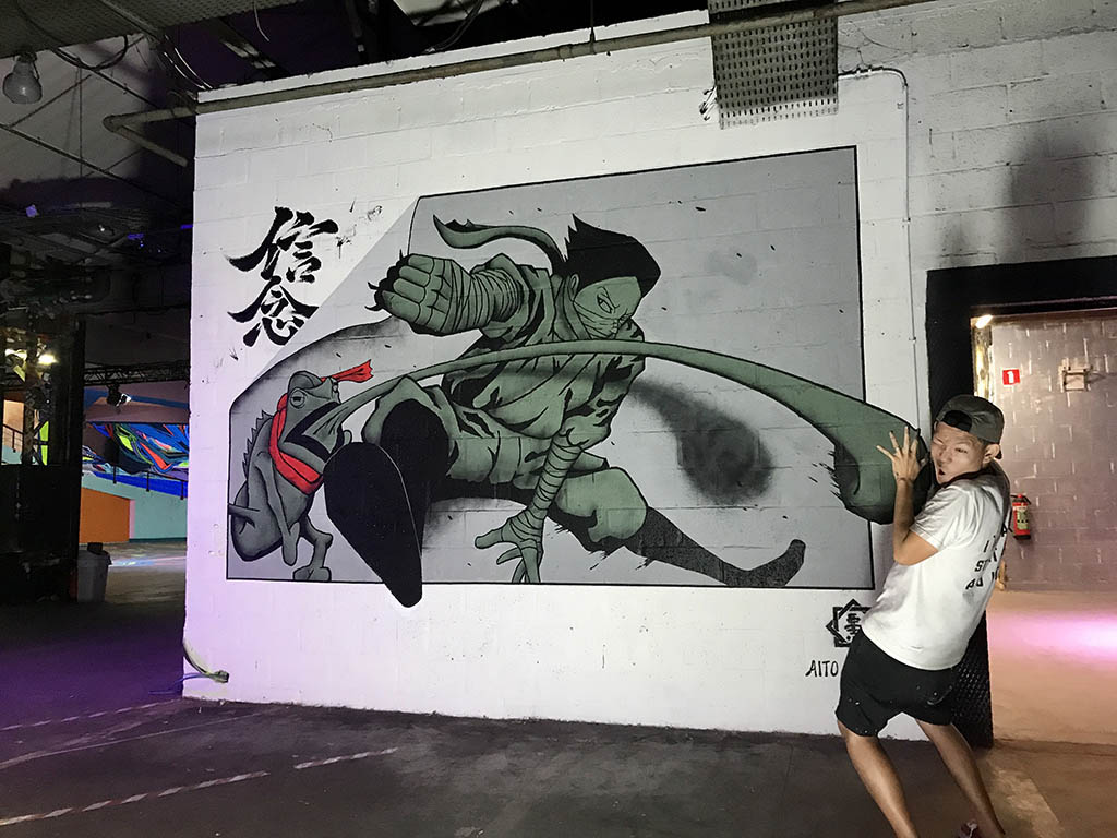 "• 4me4you..introduces you to the world of STREET ARTIST ""AITO KITAZAKI: Edgy, Fresh and purely the best....❣️ FURTHER INFORMATION: Official website: aito-kitazaki.com Official Youtube channel: https://www.youtube.com/channel/UCzNbBmxR3whRlcyarH9QFvA Instagram: https://www.instagram.com/aitokitazaki/ Facebook: https://business.facebook.com/aitokitazaki/?business_id=2075789882680024&ref=bookmarks Official online store: https://shop.aito-kitazaki.com"