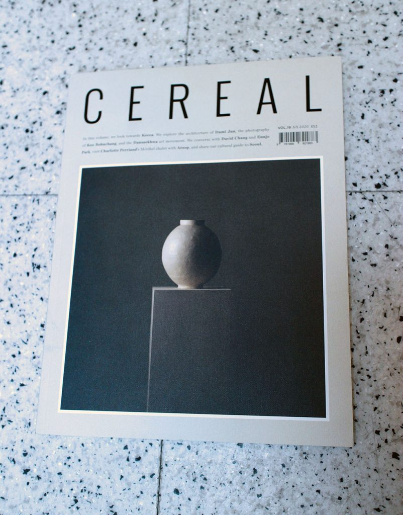 "IN ""Camden News"" store to see ""cereal"" magazine"