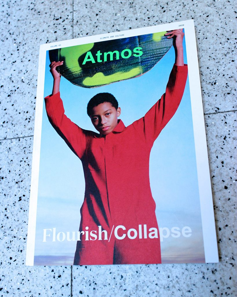 "IN ""Camden News"" store to see ""atmos"" magazine"