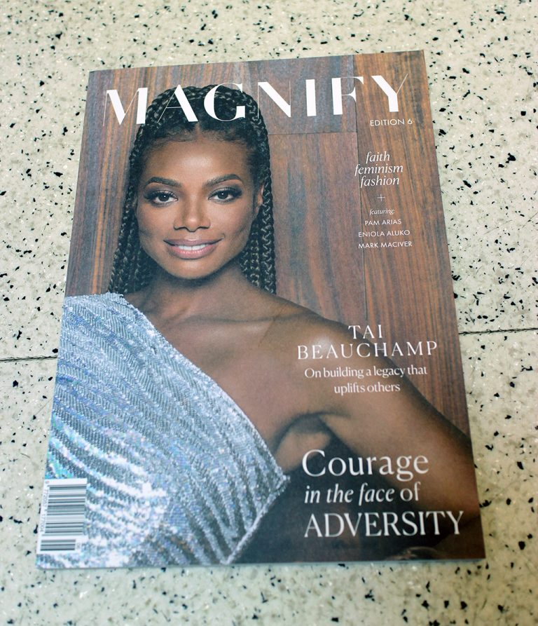 """IN """"Camden News"""" store to see """"magnify"""" magazine"""
