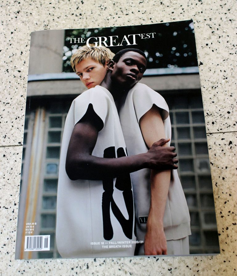 """IN """"Camden News"""" store to see """"the greatest"""" magazine"""