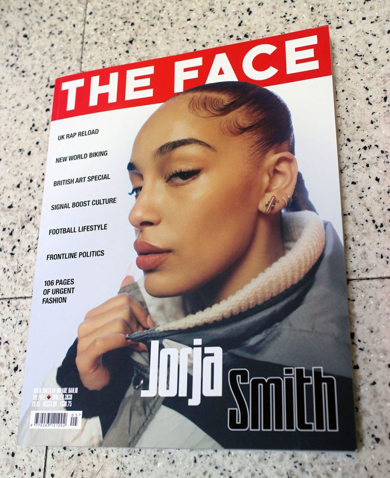 "IN ""Camden News"" store to see ""face"" magazine"