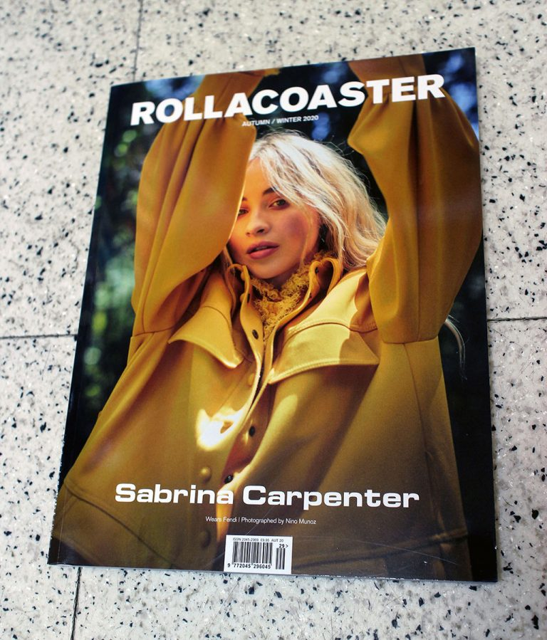 "IN ""Camden News"" store to see ""rollacoaster"" magazine"