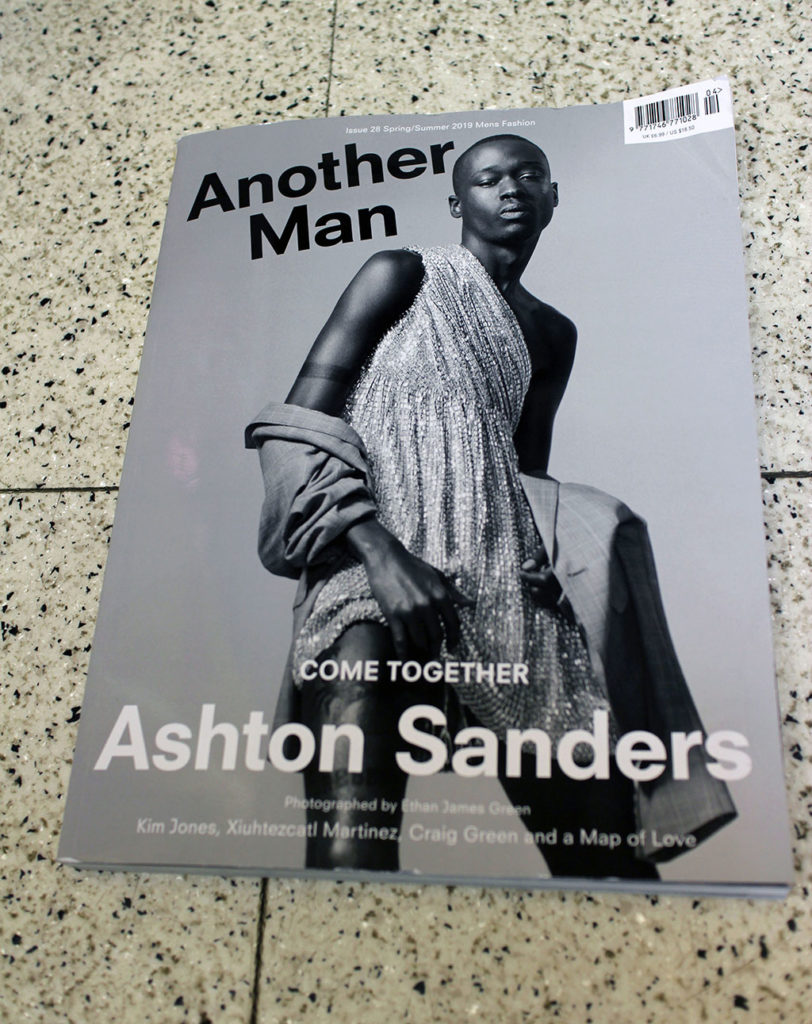 """IN """"Camden News"""" store to see """"another man"""" magazine"""