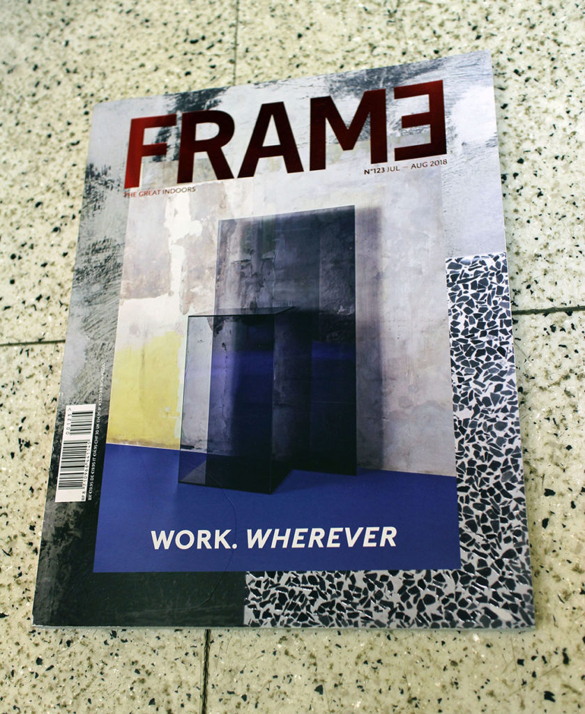 """IN """"Camden News"""" store to see """"frame"""" magazine"""