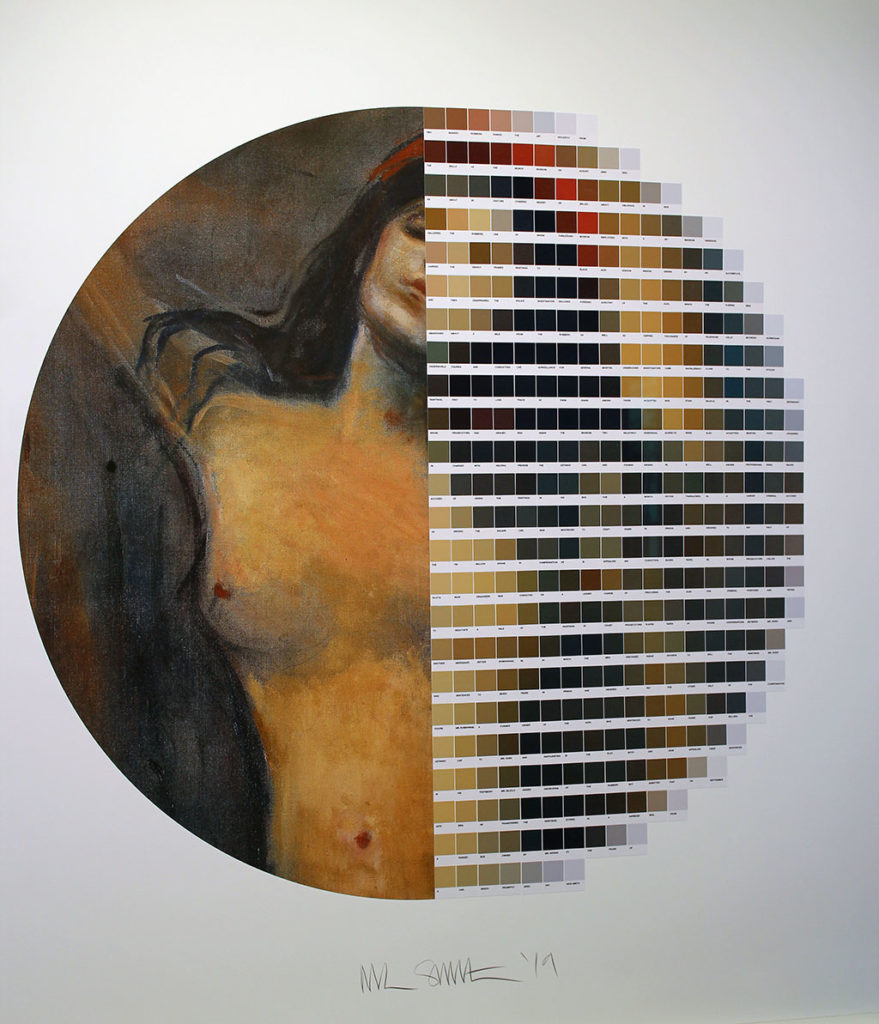 """4me4you visits Rhodes Gallery which showcased new works by Nick Smith """"pinched""""."""