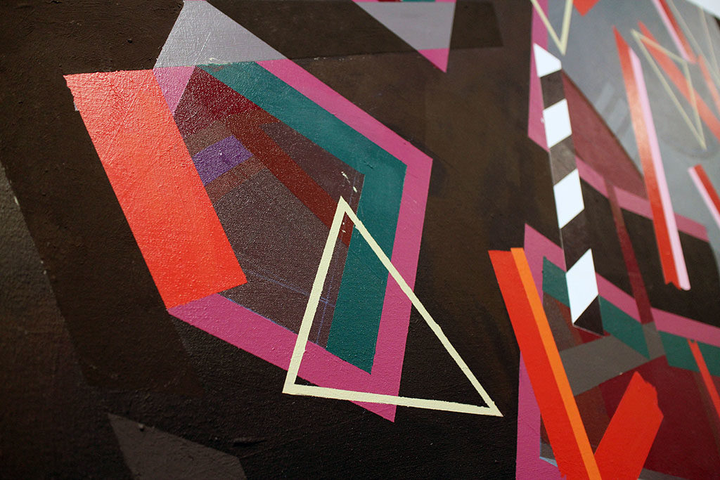 A student of abstractionist painter and Bauhaus designer Josef Albers, Reed learned to skillfully mix his own colours, often reflecting his personal experiences in vibrant compositions of geometric form.